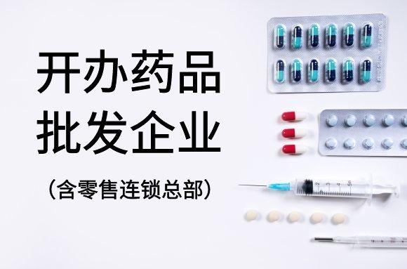 开办药品批发企业(含药品零售连锁企业总部)